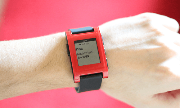 PushingBox Notification Pebble